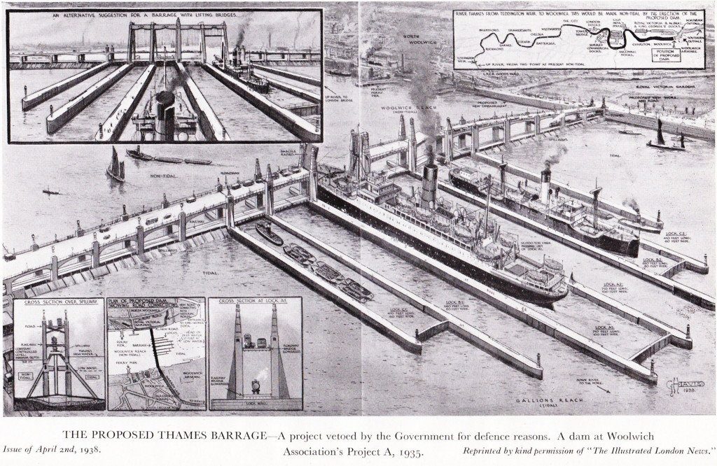 Proposed Thames Barrage