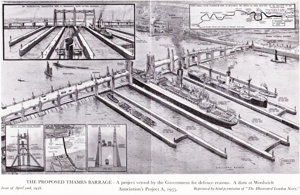 Proposed Thames Barrage