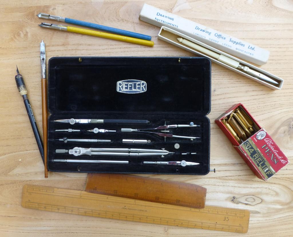 Draughtsmans tools
