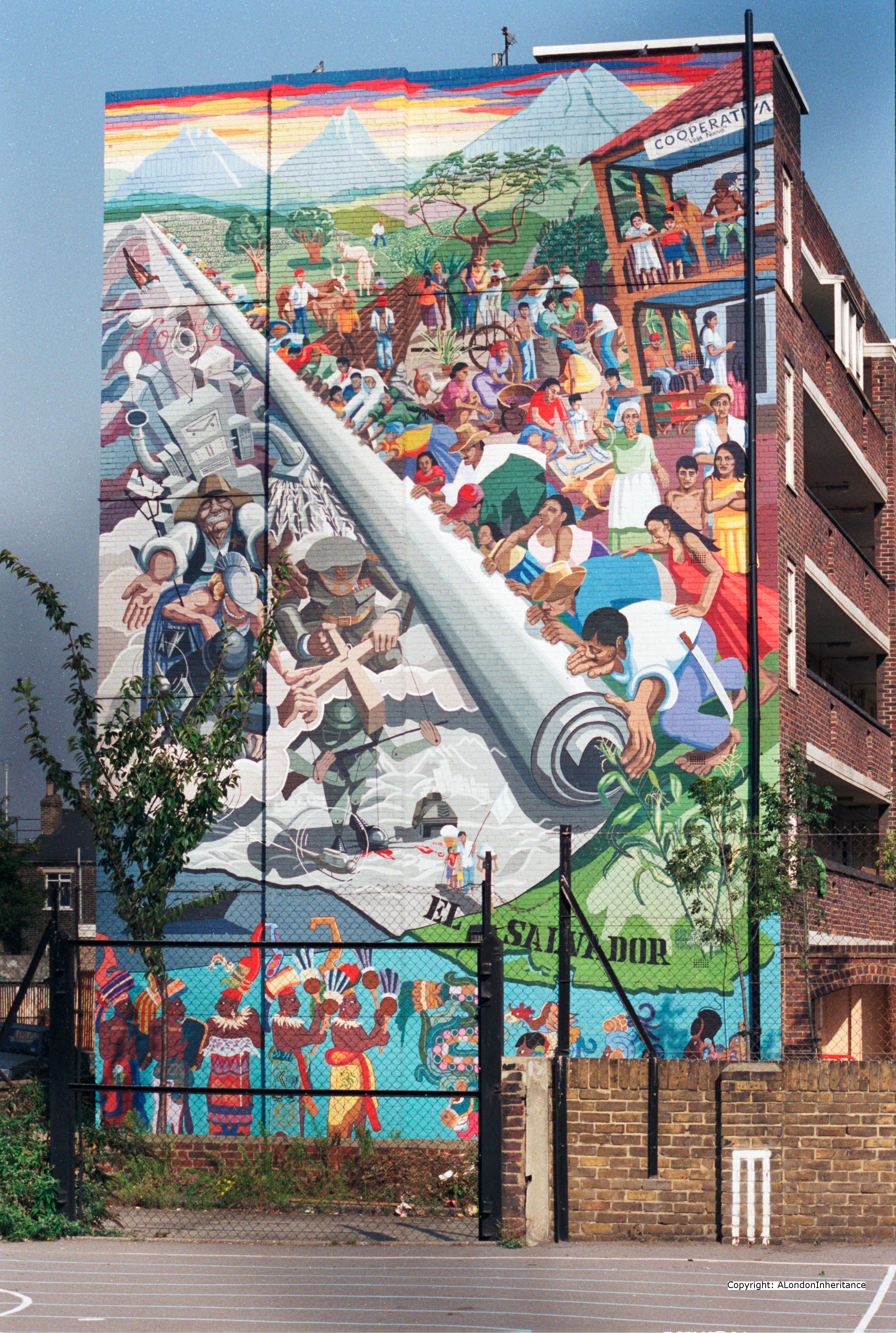 Murals and street art from 1980s london a london inheritance for Mural street art