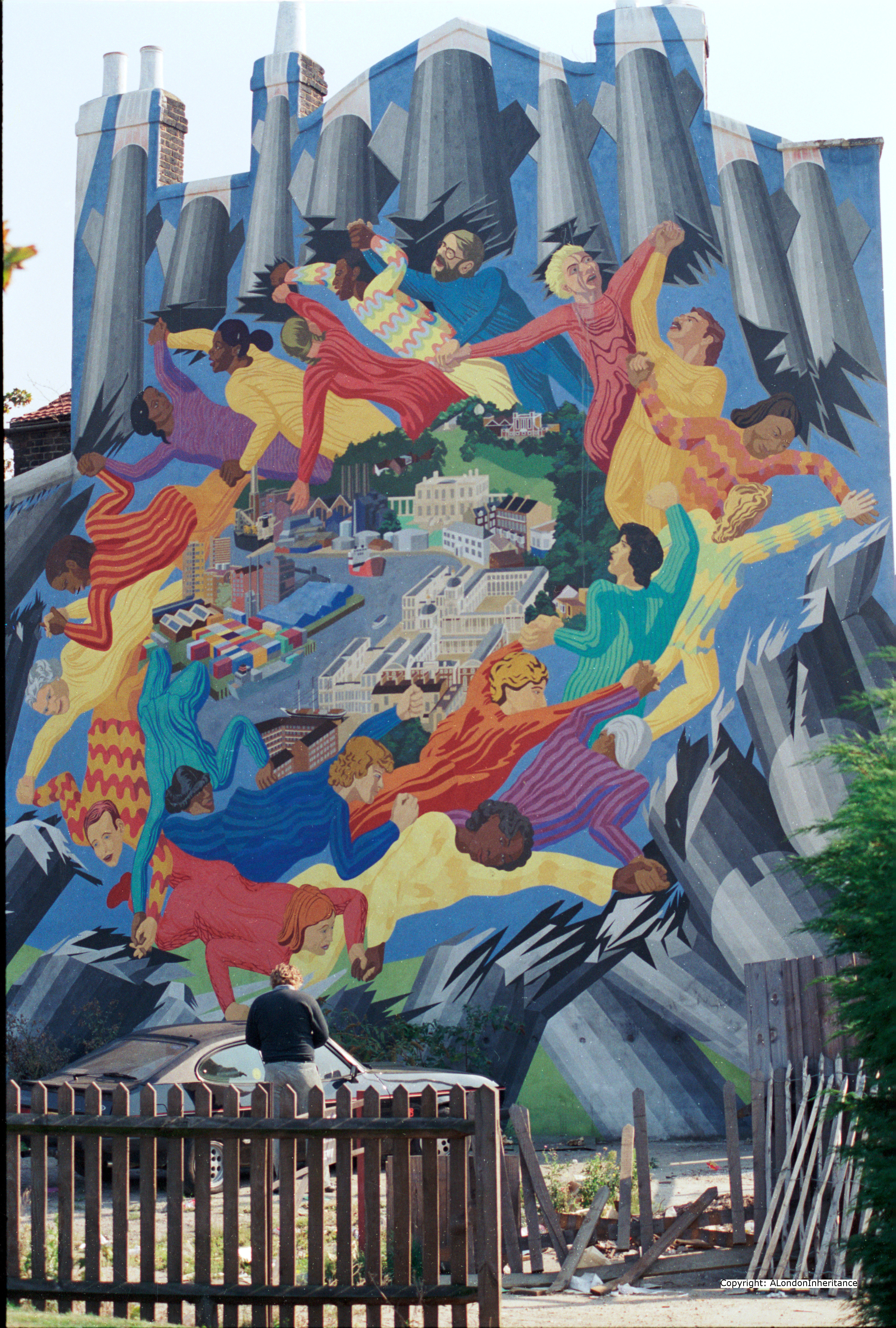 Murals and street art from 1980s london a london inheritance for Mural examples