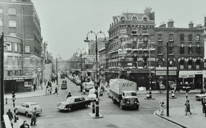 Euston Road (Looking West From Hampstead Road) - 1961 (02)