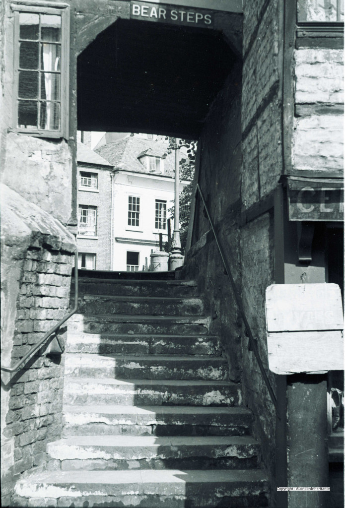 old bear steps