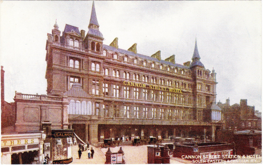 Cannon Street Hotel Postcard