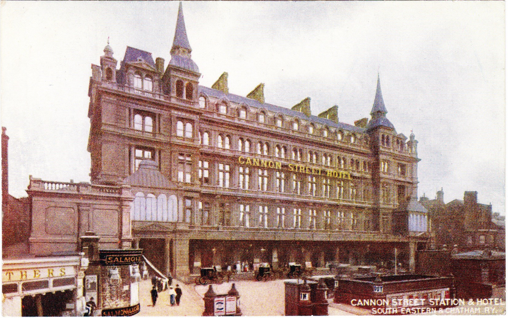 Cannon street station and a lost roof of iron and steel for Hotel original