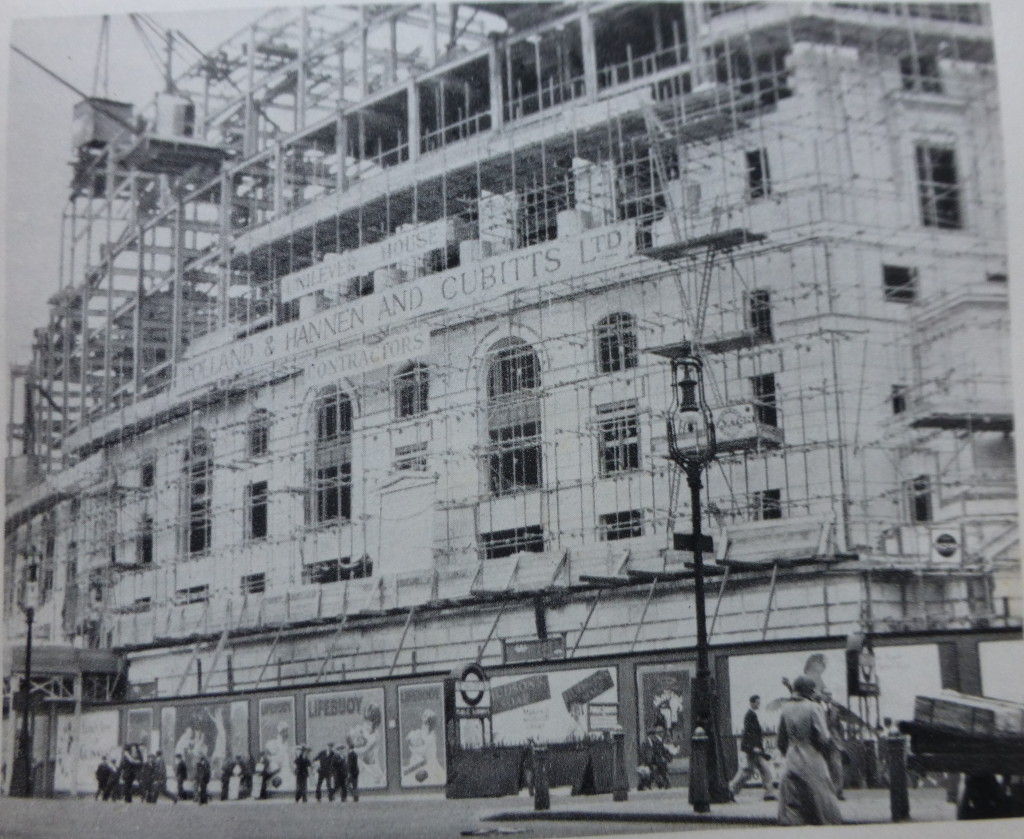 unilever house construction