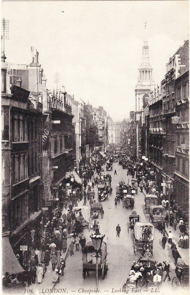 cheapside postcard