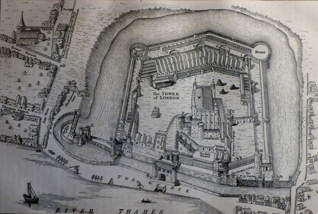 tower of London 1597