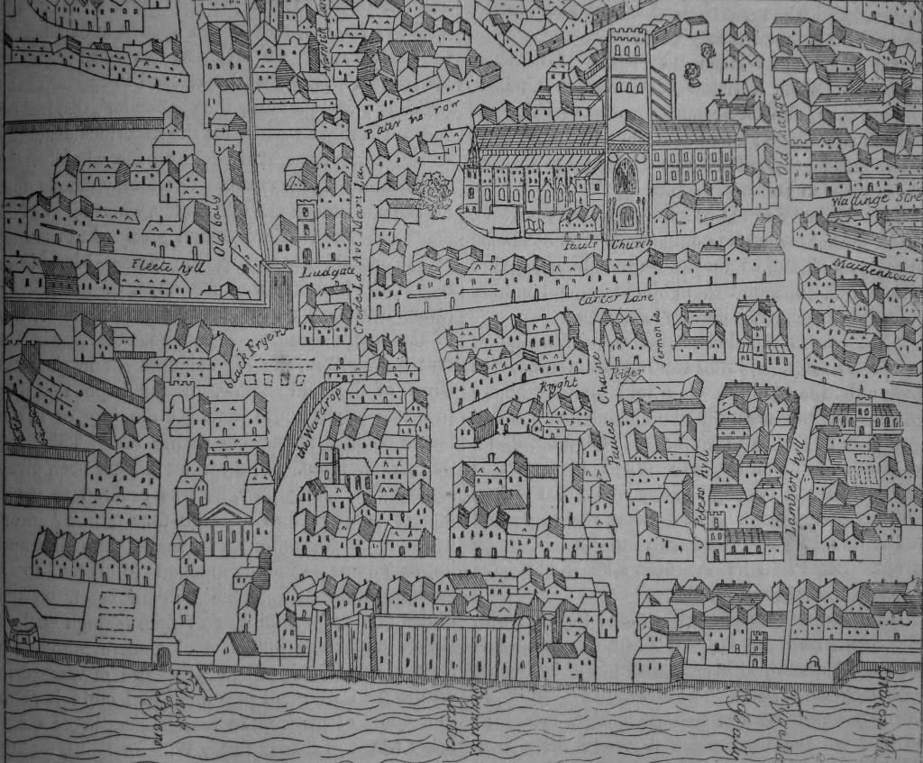 baynards map
