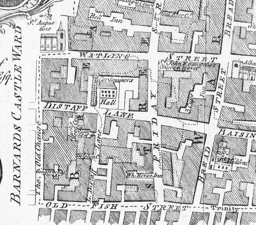 Distaff Lane  How London Streets Have Changed Over The