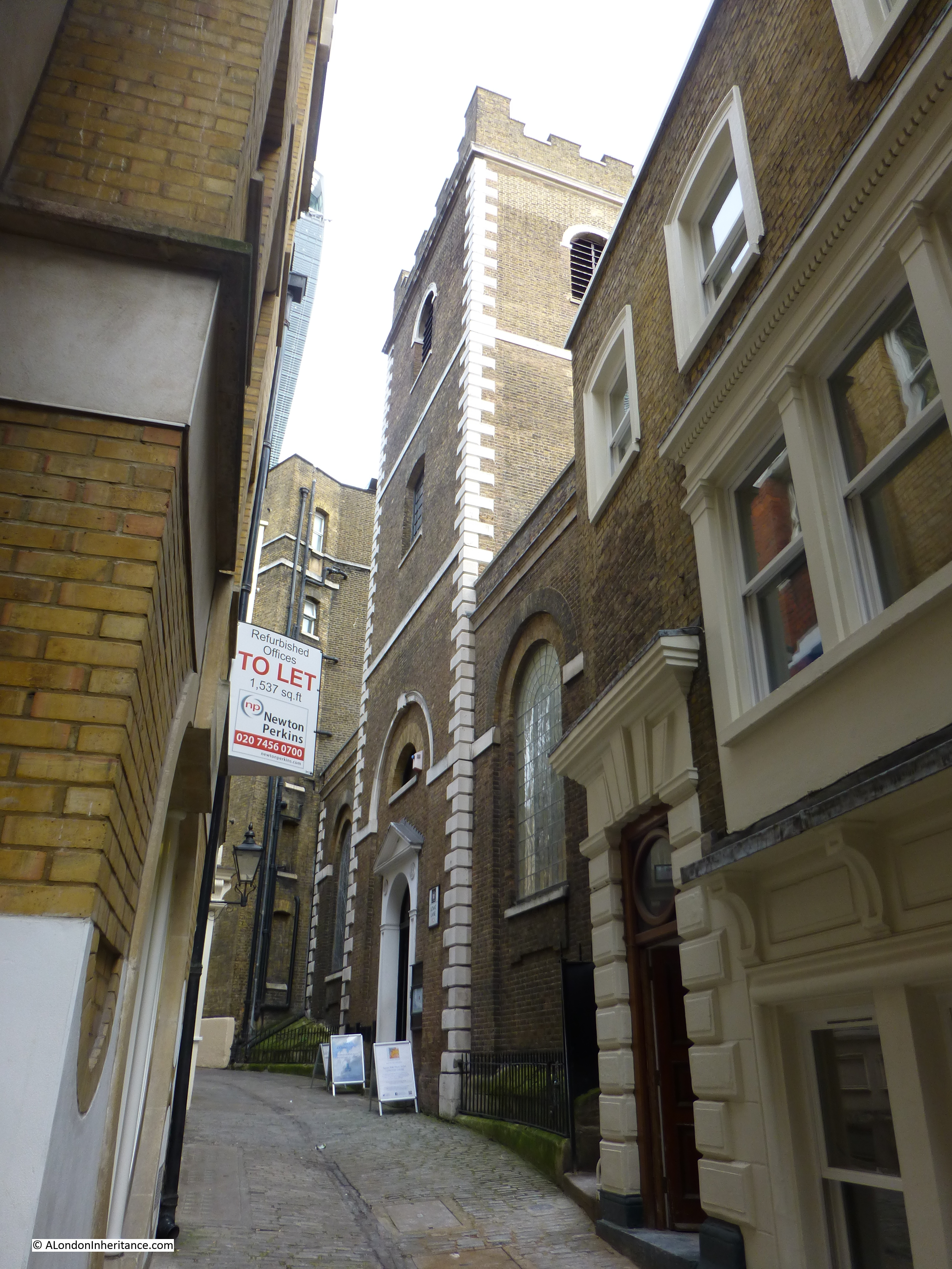 St Mary At Hill And Lovat Lane A London Inheritance