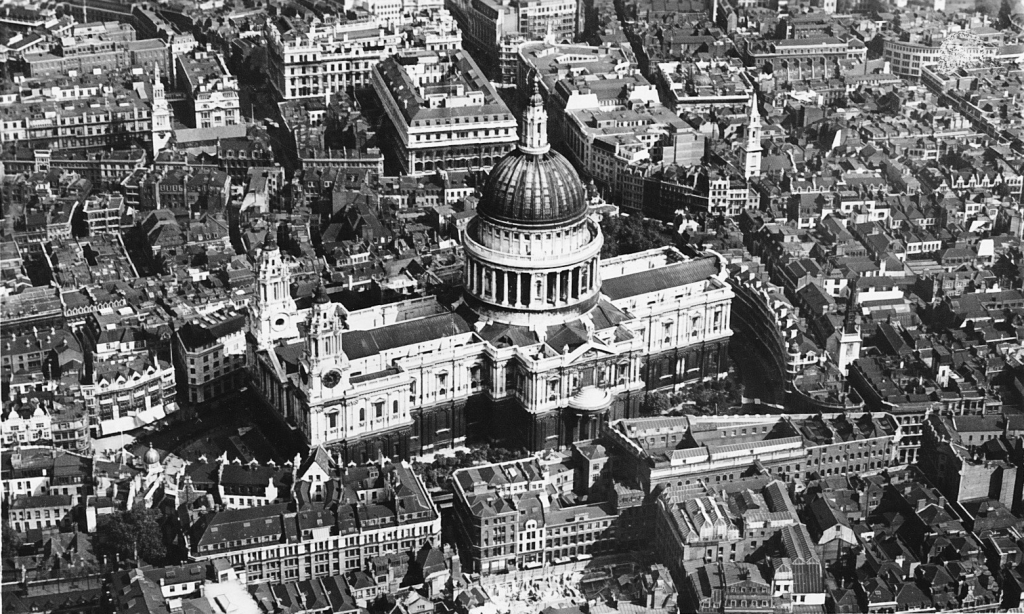 st pauls aerial view 1