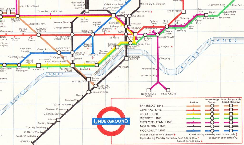 Underground Map 1