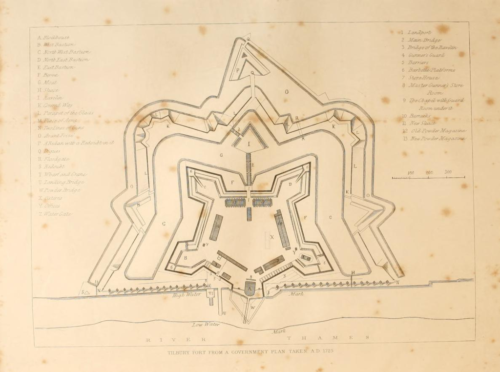 Tibury_Fort_AD_1725