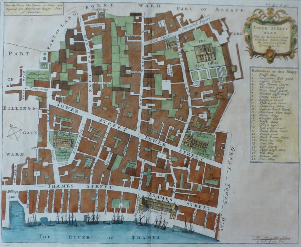 Thames Street Map