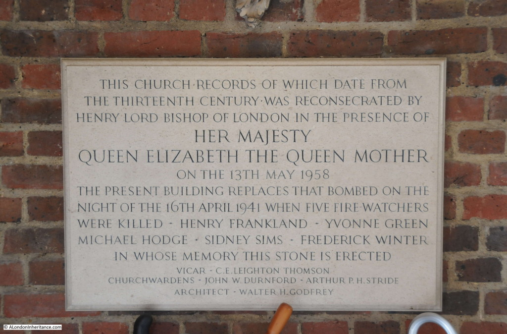 Chelsea Old Church 4