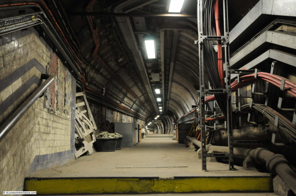 Euston Underground Tunnels 4