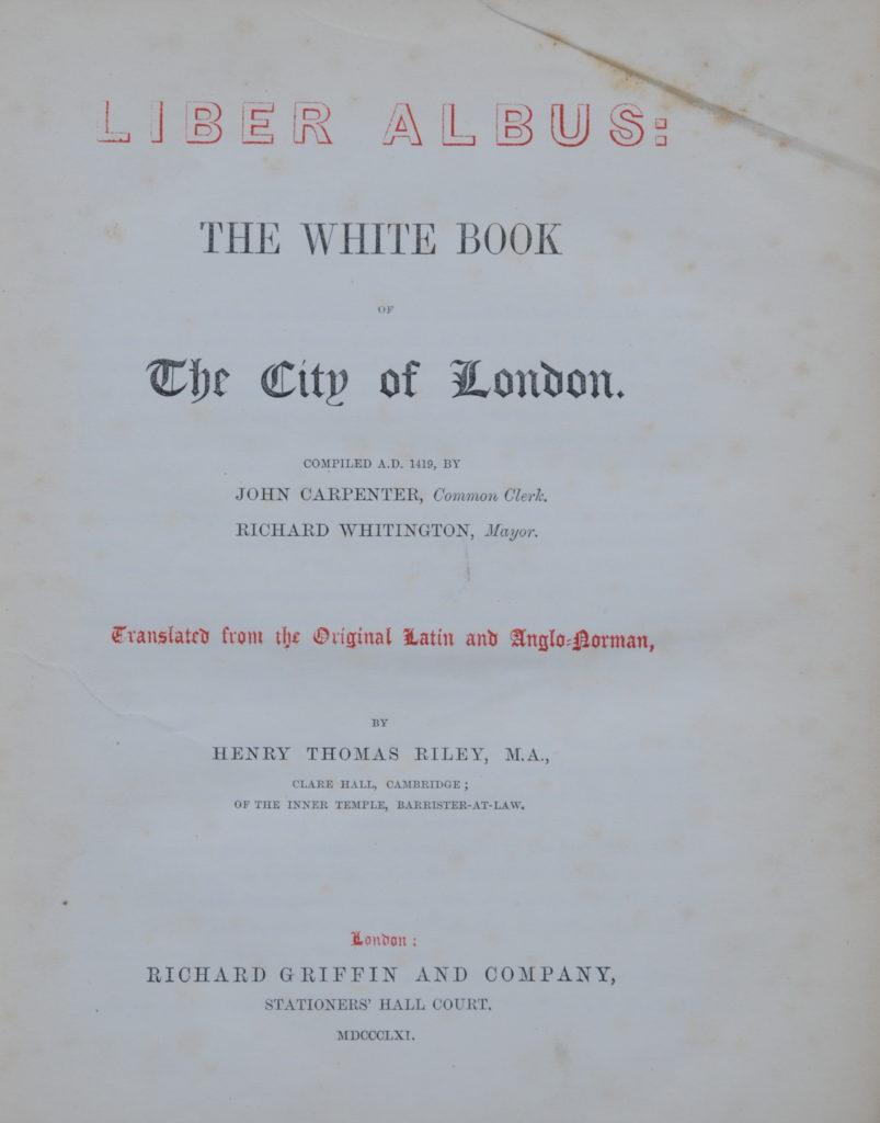 London Books 8