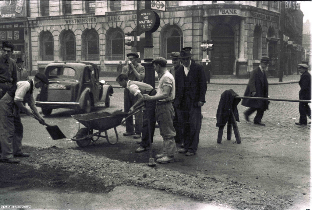 Road Works in London 6