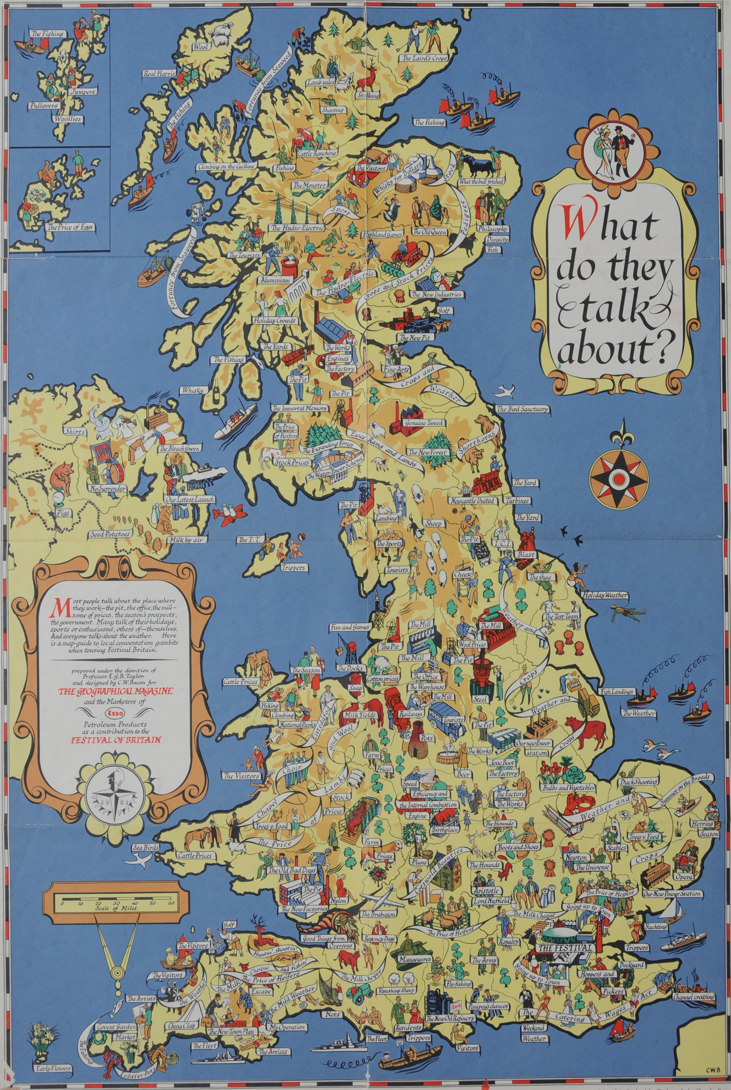 London Great Britain Map.The Festival Of Britain Maps Football Guidebooks Science And