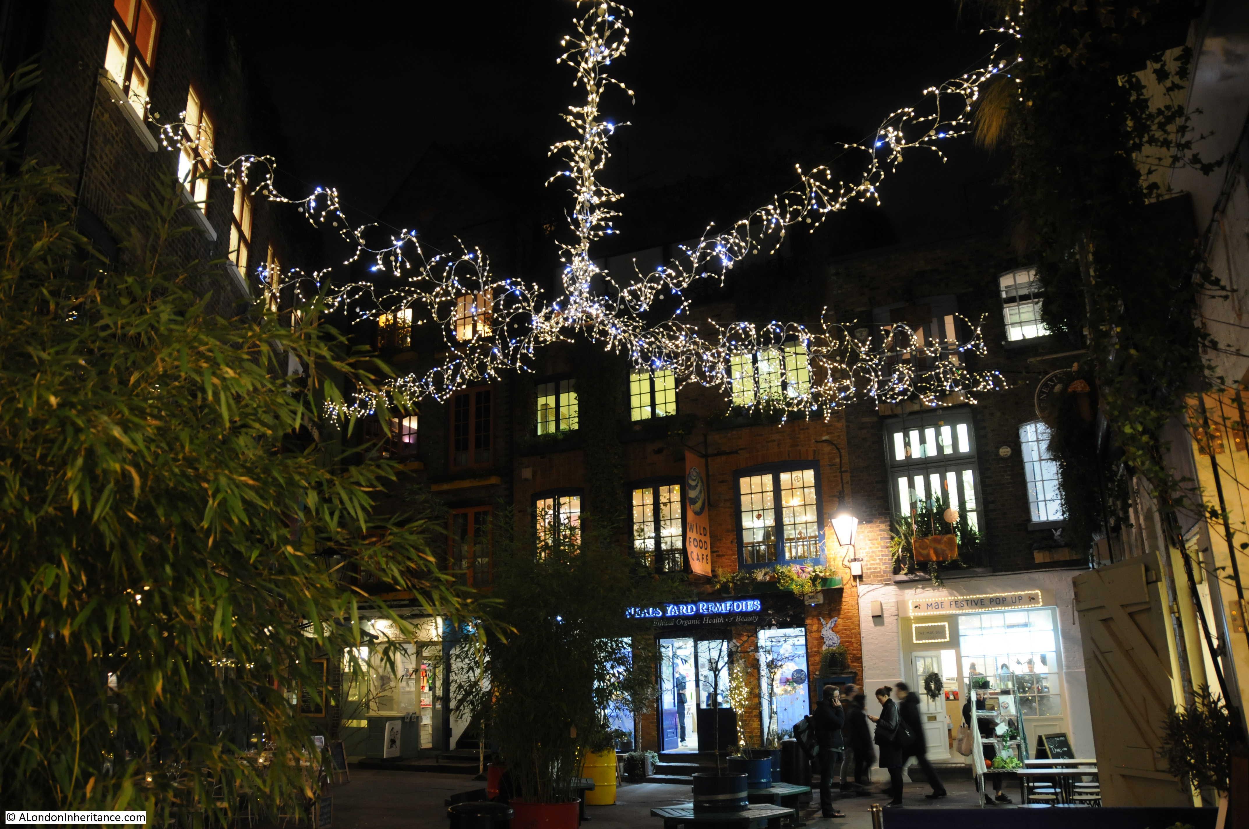 London Christmas Lights 1978 And 2016 A London Inheritance