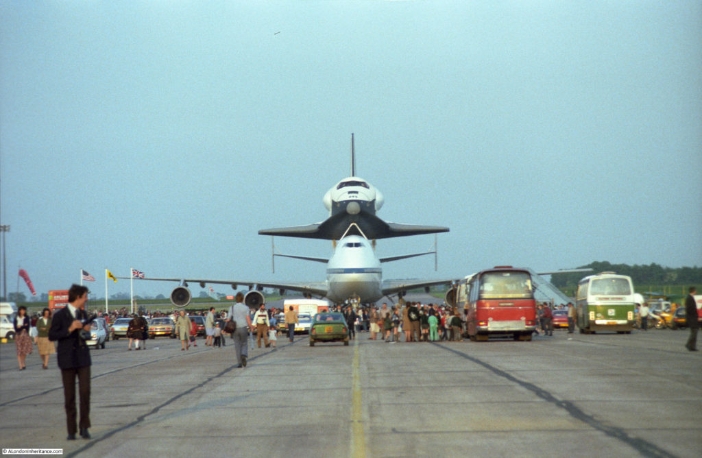 space shuttle landing at stansted -#main
