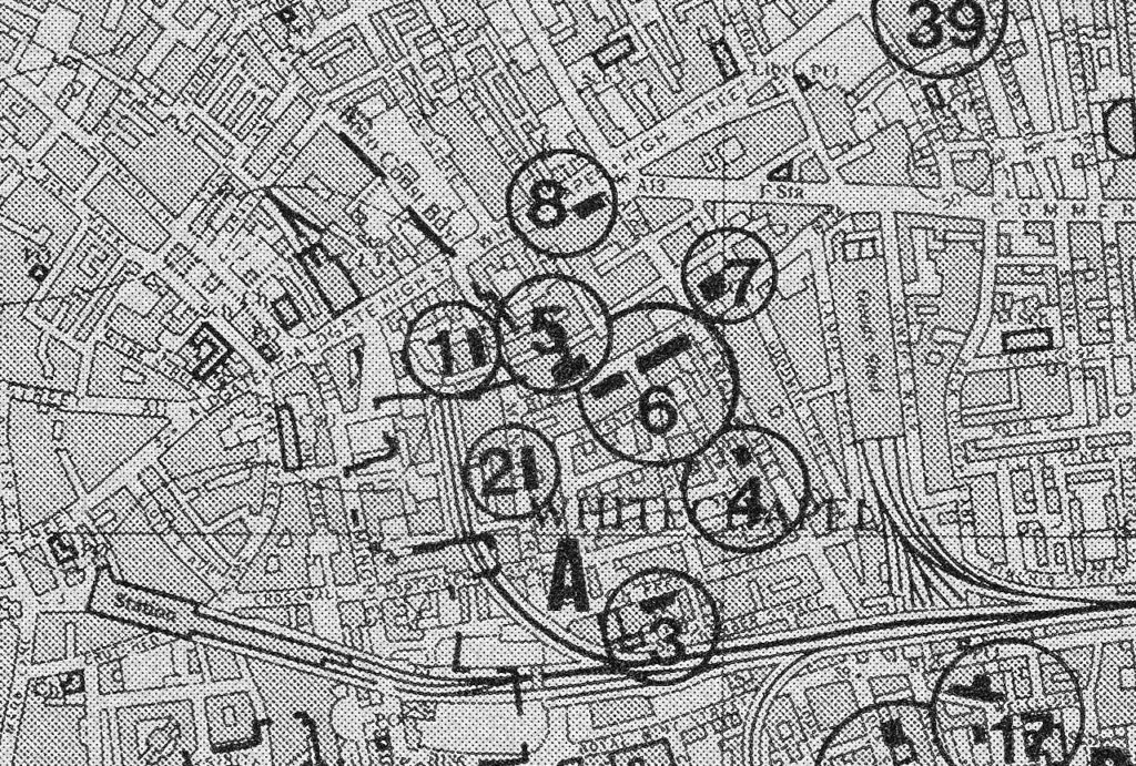 East London Map A