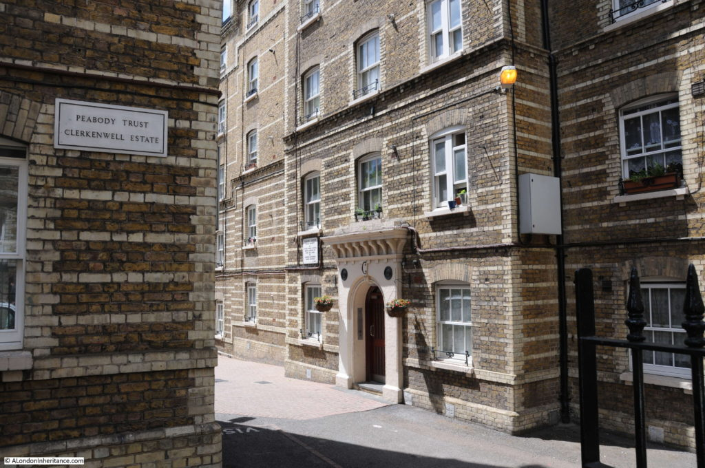 Pear Tree Court And Clerkenwell Close Peabody Estate