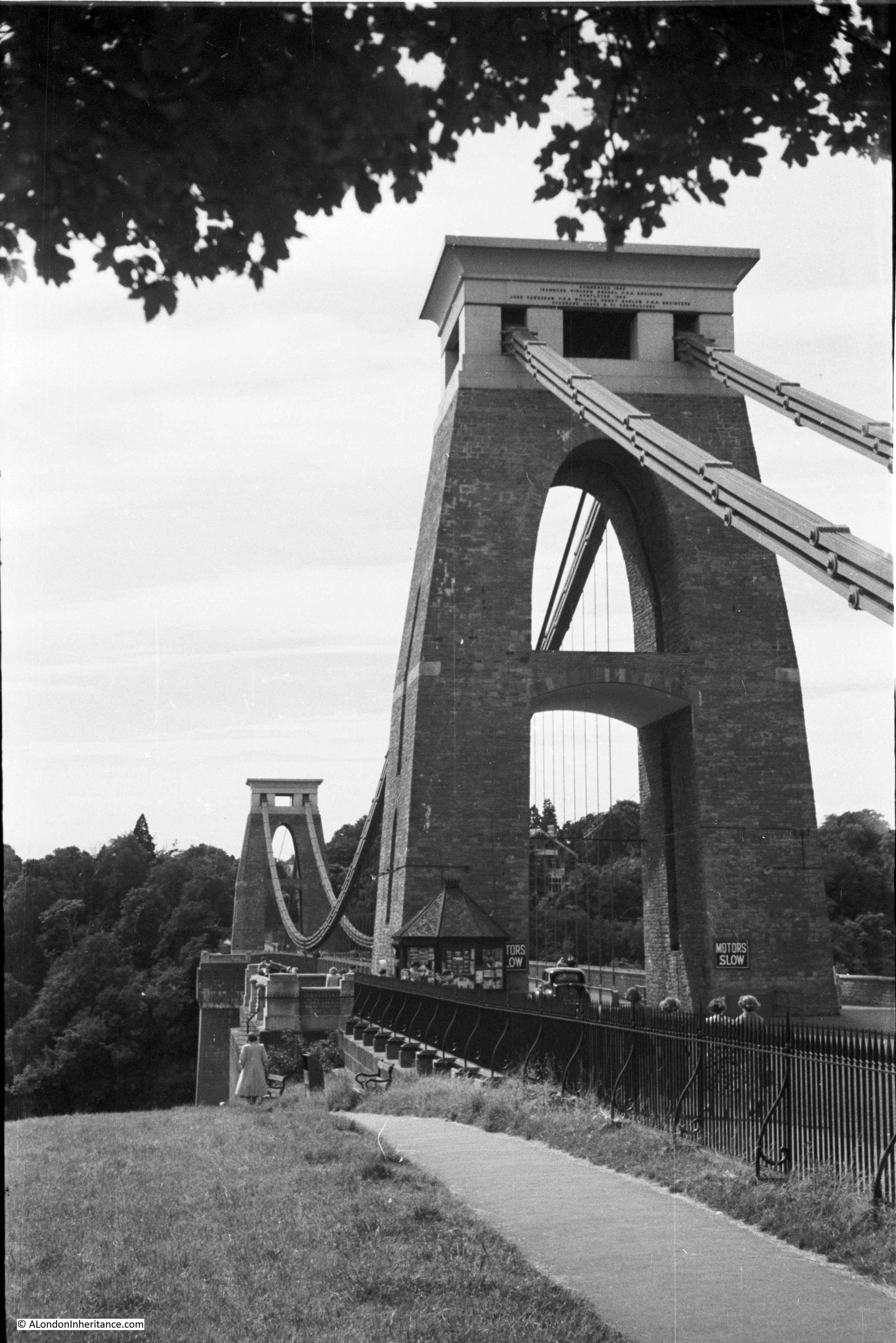 suspension bridge abutment. clifton suspension bridge abutment a