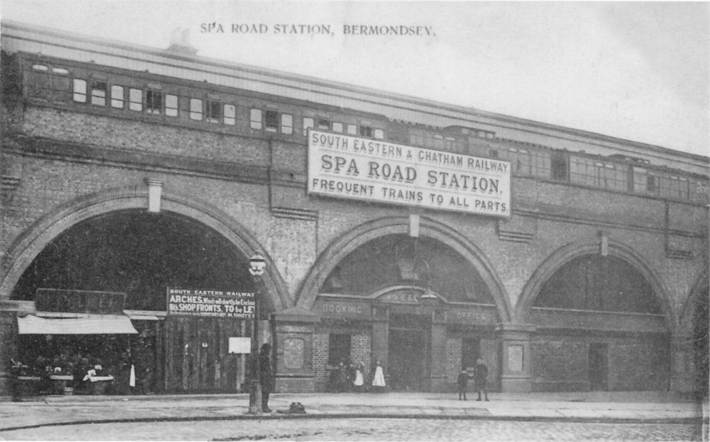 Spa Road Station
