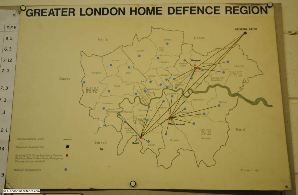 Map Of Uk Nuclear Bunkers.A Visit To The Kelvedon Hatch Secret Nuclear Bunker