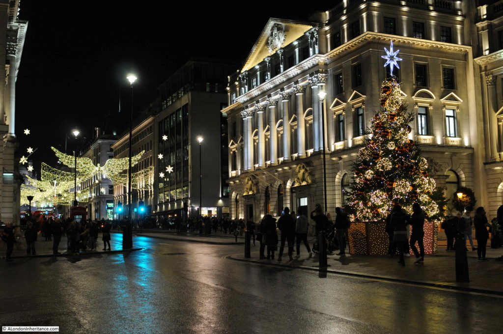 West End at Christmas
