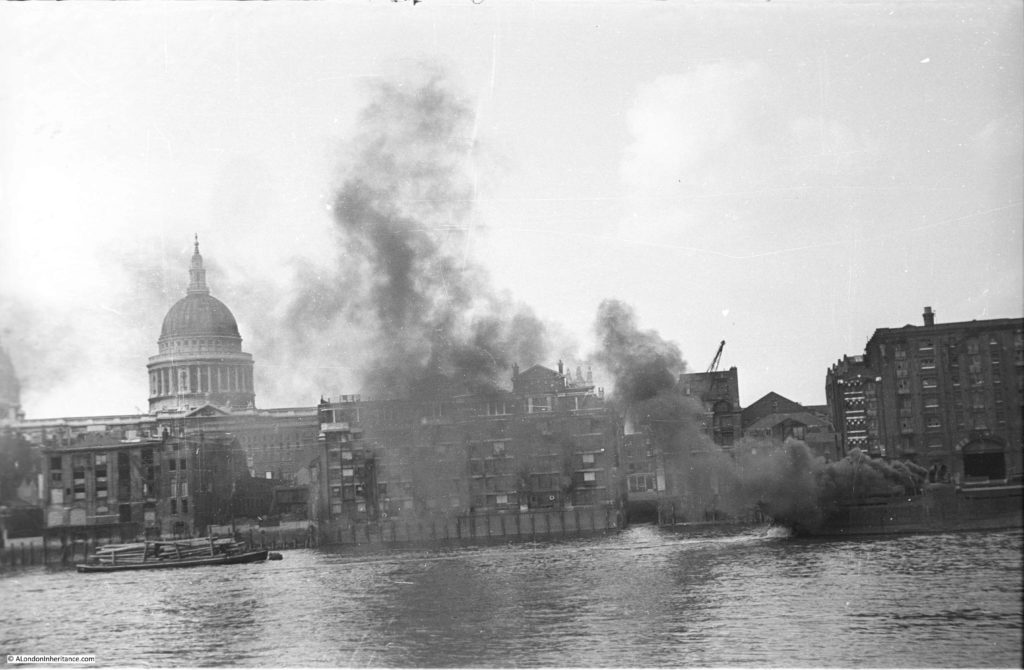 Ship Fires on the Thames