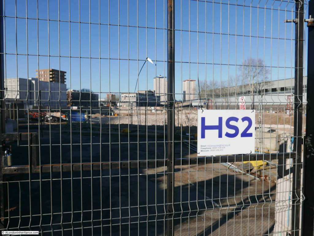 Euston Station HS2