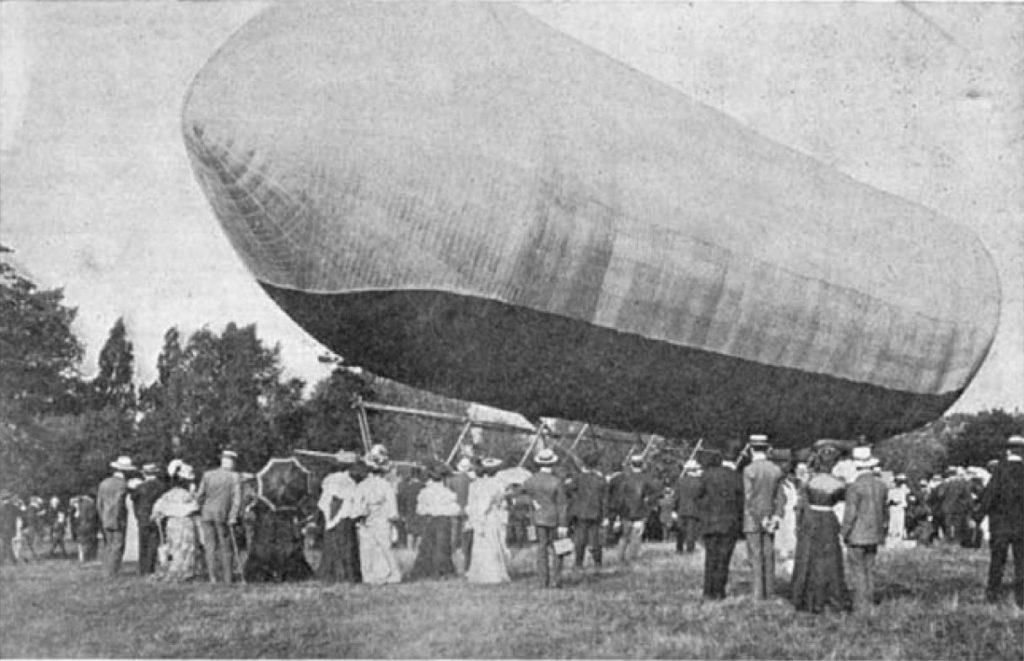 Dr Barton's Airship