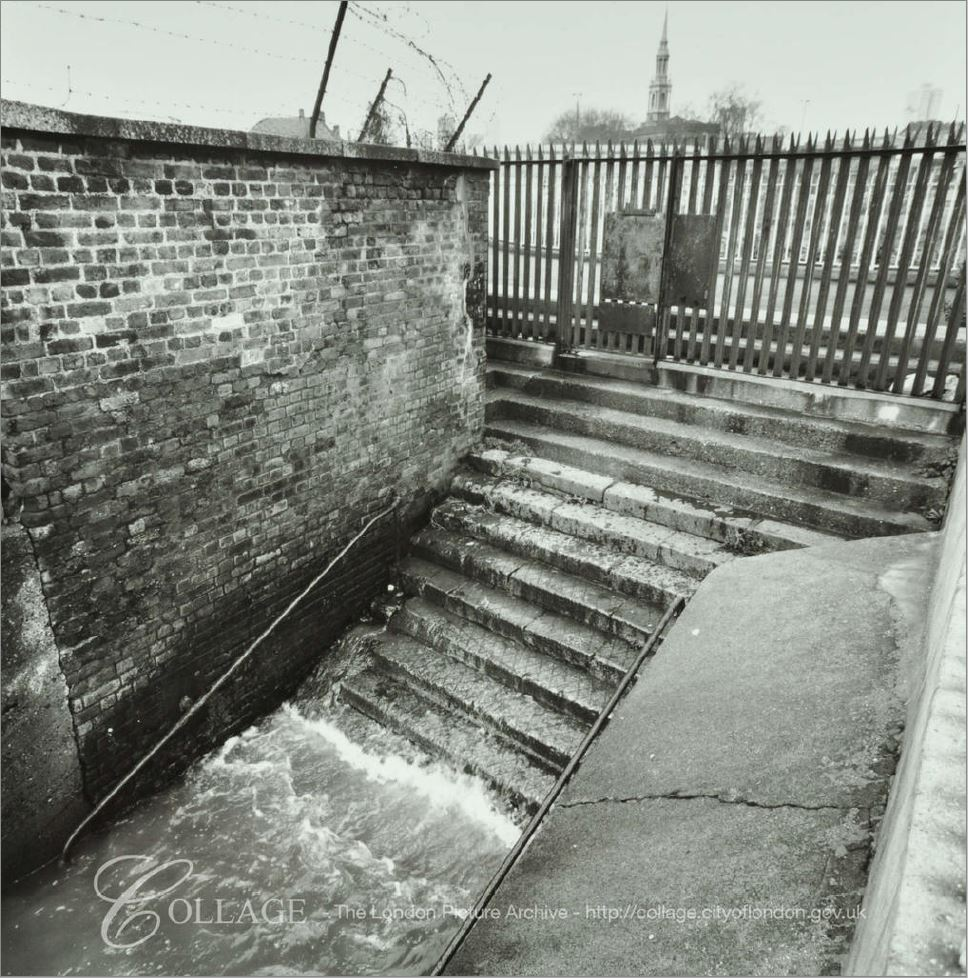 Shadwell Dock Stairs