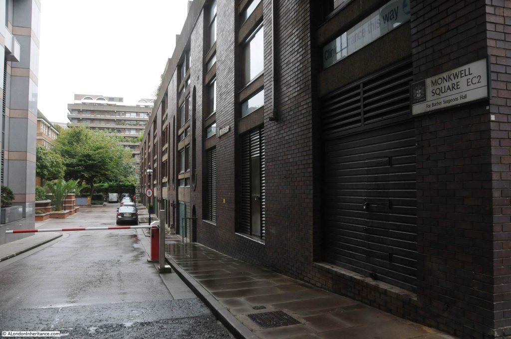 Monkwell Street