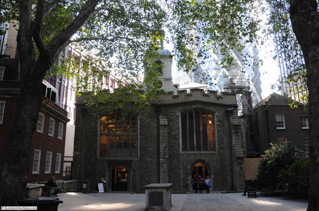 St Helen's Bishopsgate