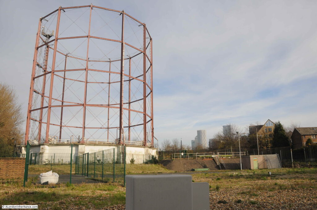 Rotherhithe Gas Works