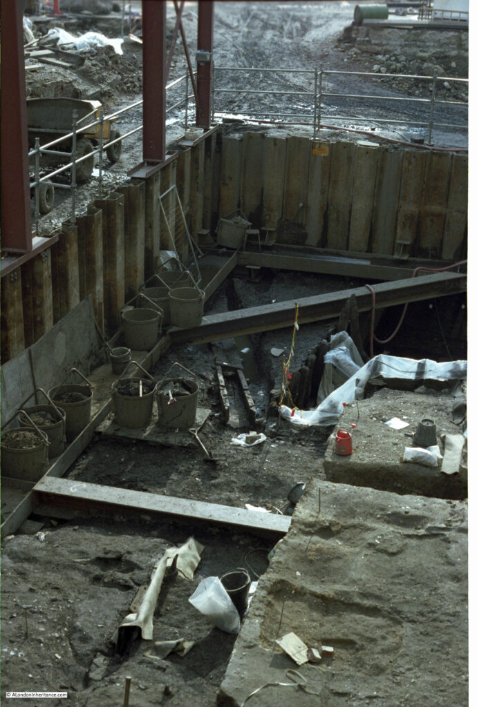 Billingsgate excavation
