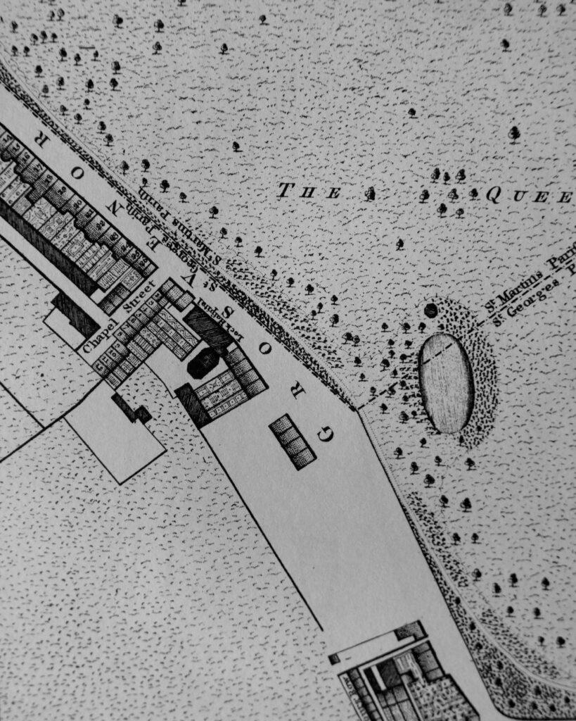 Horwood's map of Belgravia