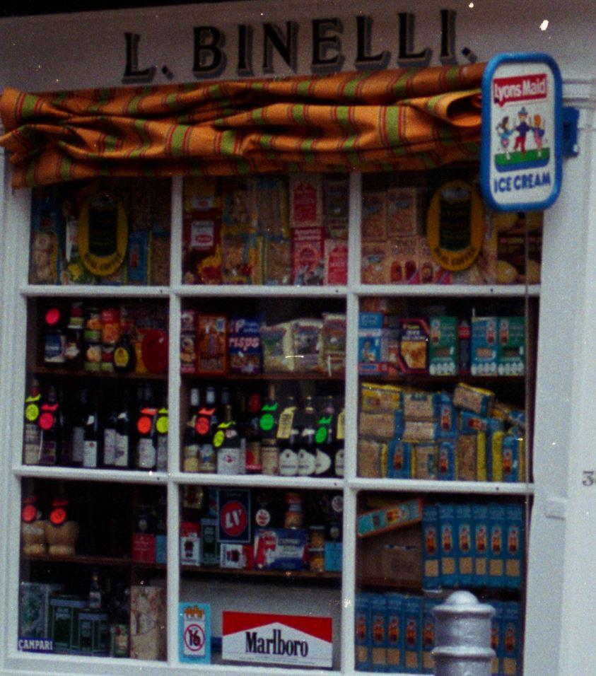 Binelli store window