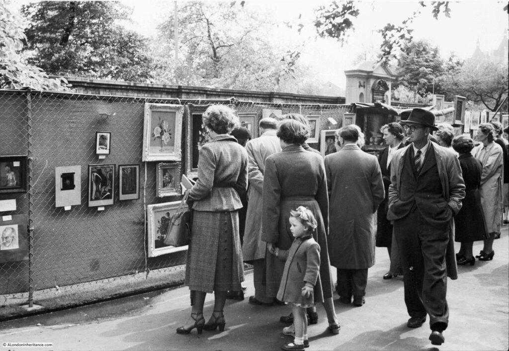 Embankment Gardens Open Air Art Exhibition