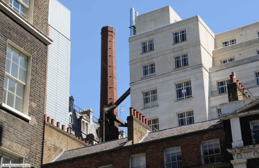 Chimney by Shell Mex House