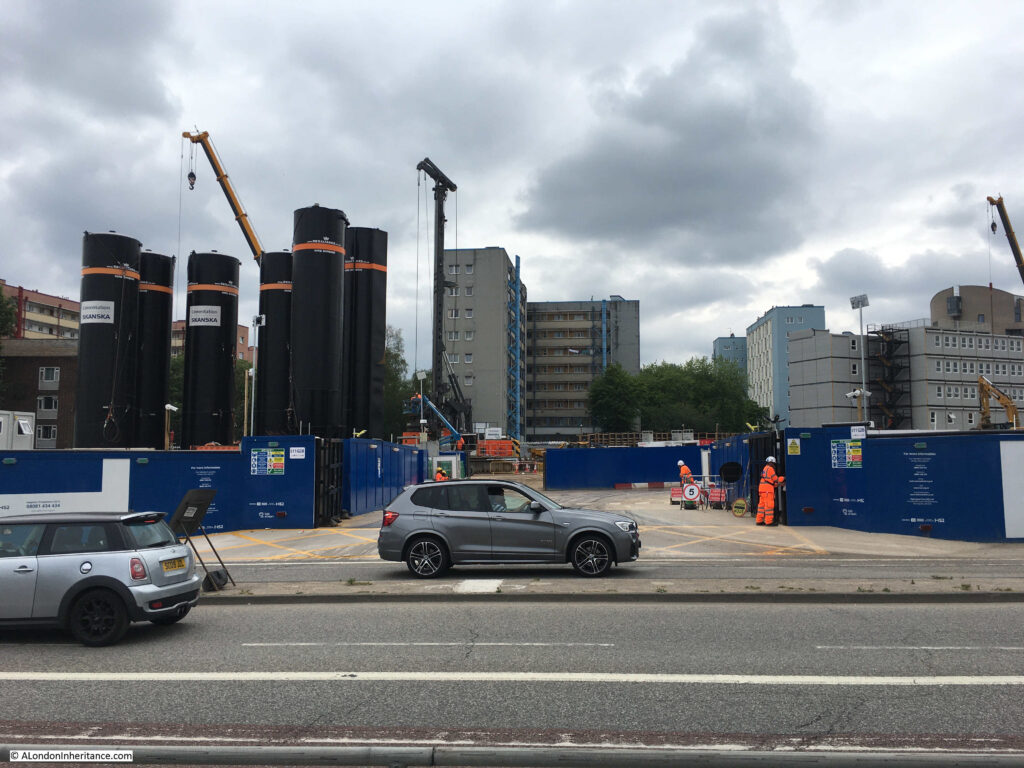 Euston Station and HS2