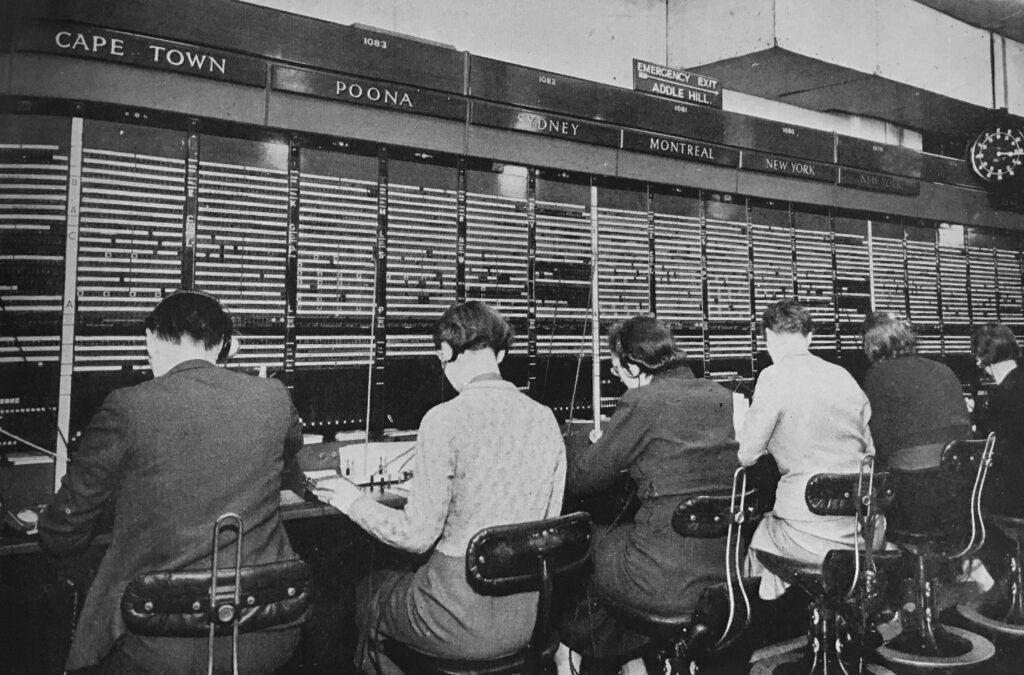 Telephone Operators Faraday Building