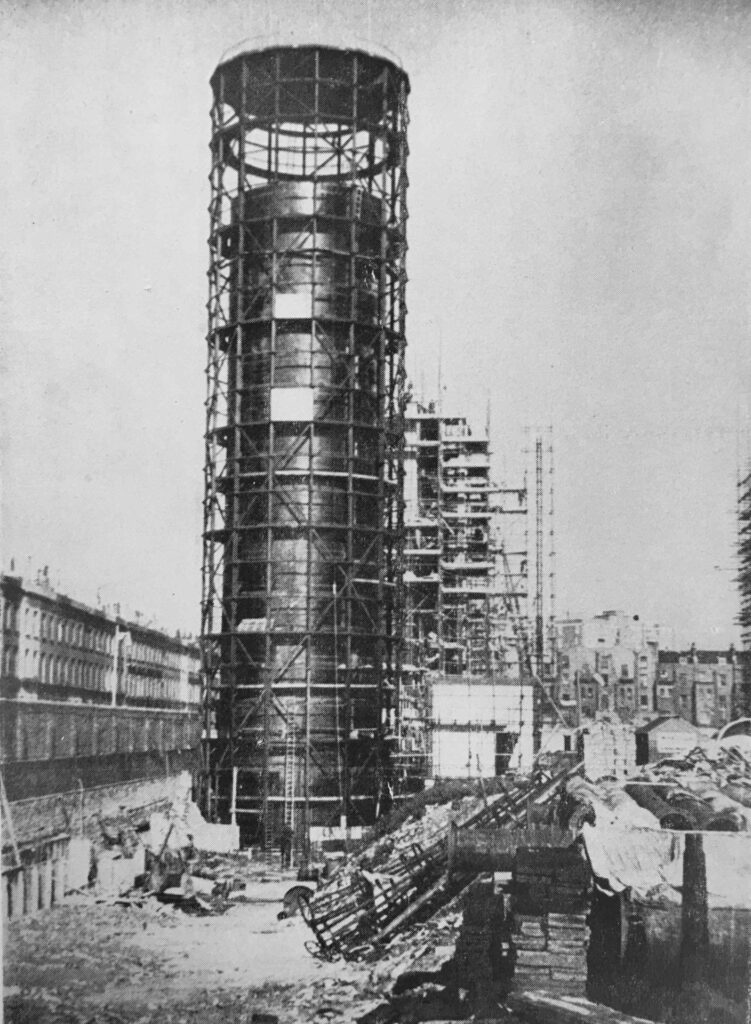 Hot Water Accumulator Tower