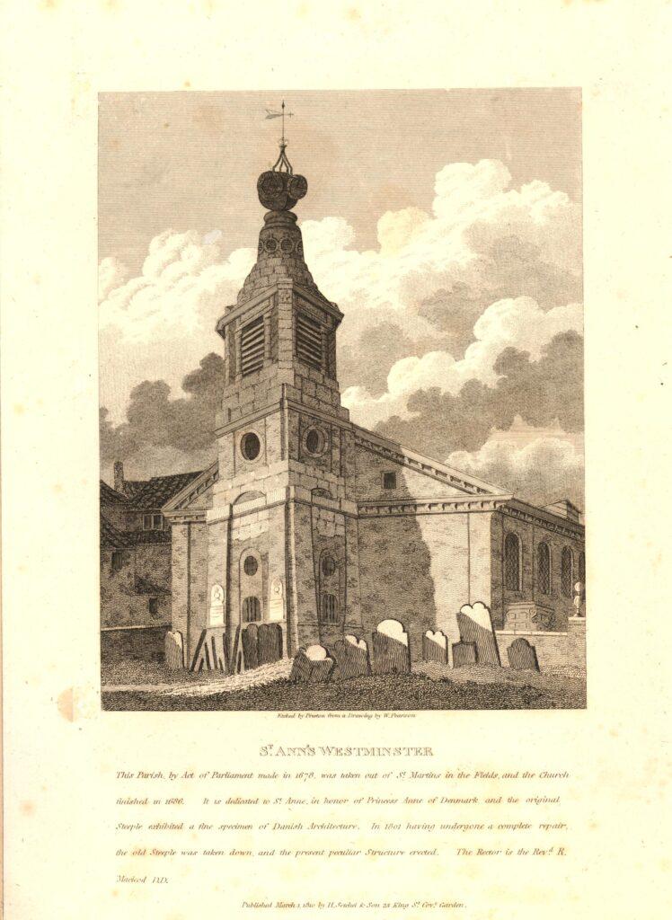 St Anne's Soho